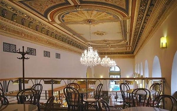 cafés em Praga