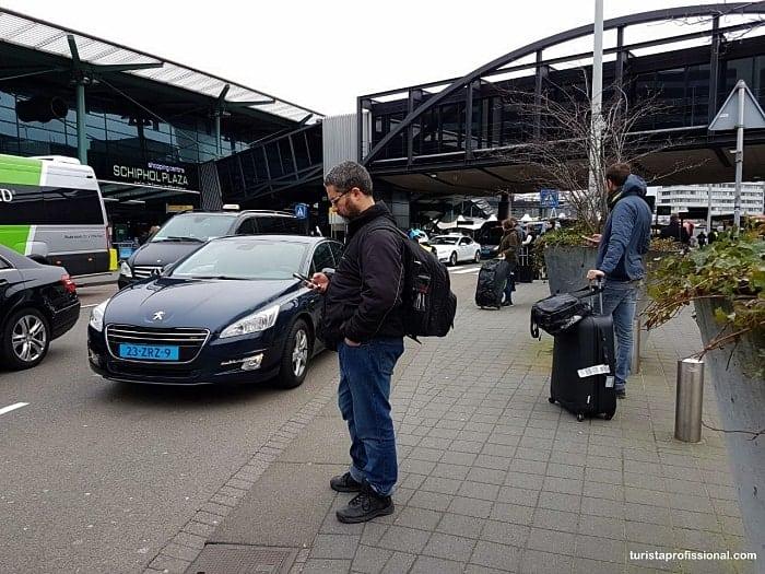 como pegar uber em amsterdam min - Onde pegar uber no aeroporto de Amsterdam