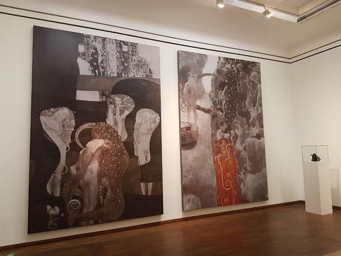 dicas de viena - Onde ver obras do pintor Gustav Klimt em Viena