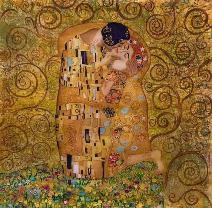 O Beijo de Gustav Klimt