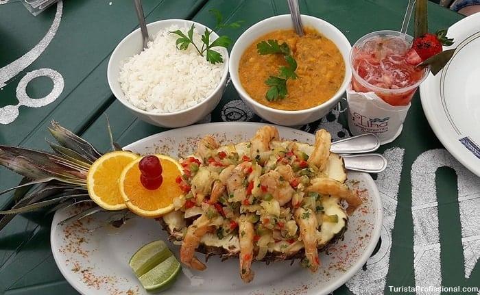 onde comer em Porto Belo