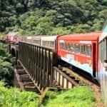 passeios de trem no brasil