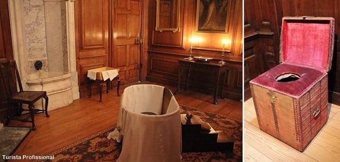 banheiro real hampton court - Dicas para visitar o Hampton Court, o palácio de Henrique VIII