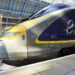 Trem entre Londres e Amsterdam