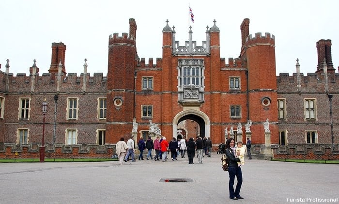 Excursão para Hampton Court
