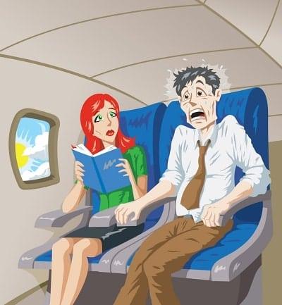 Como superar o medo de avião
