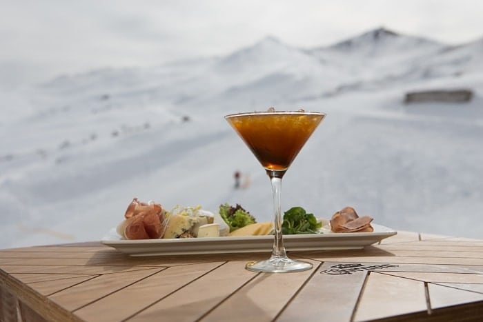 o que comer no Valle Nevado