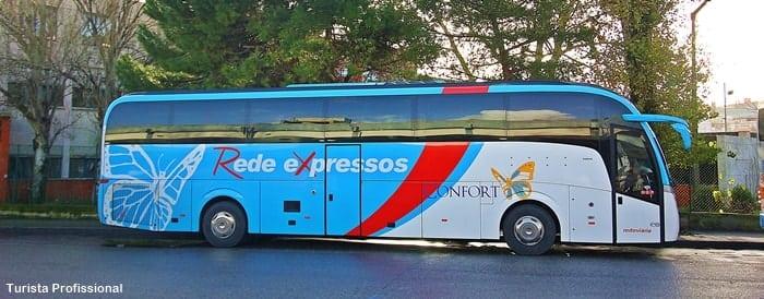 ir de Lisboa ao Porto de õnibus