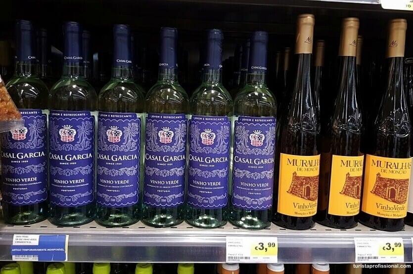 compras em Portugal - vinhos