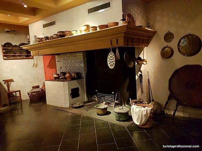 cozinha da casa de rembrandt - Museu Casa de Rembrandt em Amsterdam