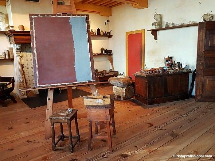estudio de rembrandt - Museu Casa de Rembrandt em Amsterdam