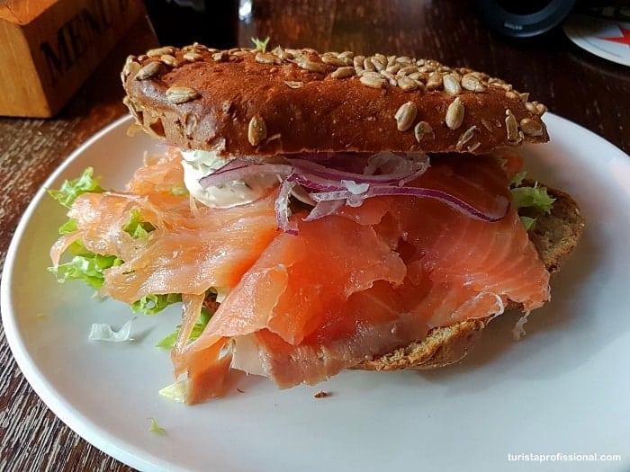o que comer em Amsterdam