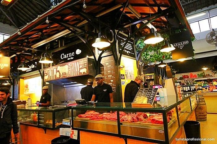 Mercado de Campo de Ourique em Lisboa