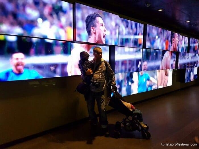 real madrid - Visita ao estádio do Real Madrid, o Santiago Bernabéu