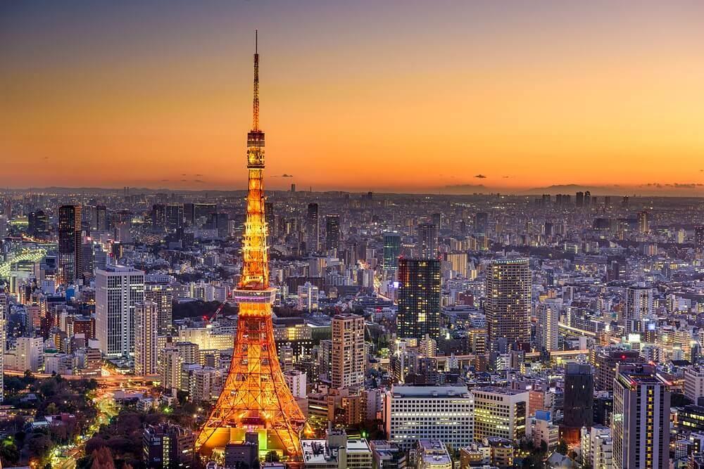 Sky Tower em Tóquio
