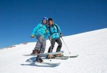 aula de esqui no Valle Nevado