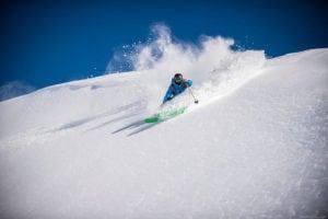 esqui no Valle Nevado
