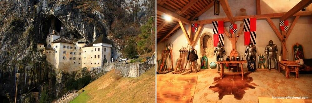 castelo pradjama eslovenia - Roteiro de 3 dias na Eslovênia