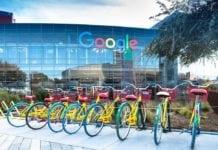 Vale do Silício: sede do Google