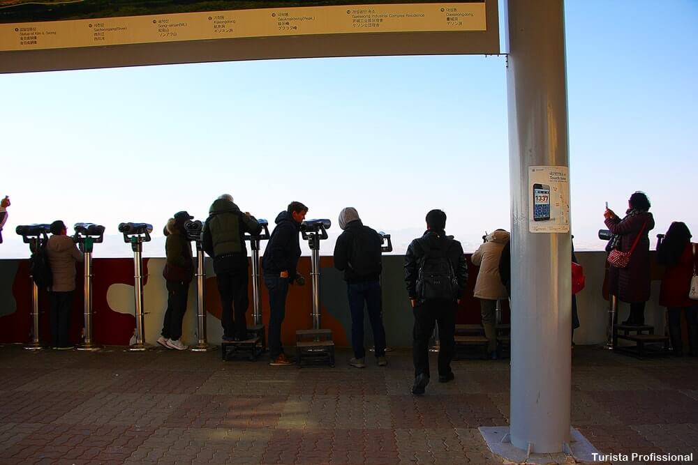 DMZ tour observatório