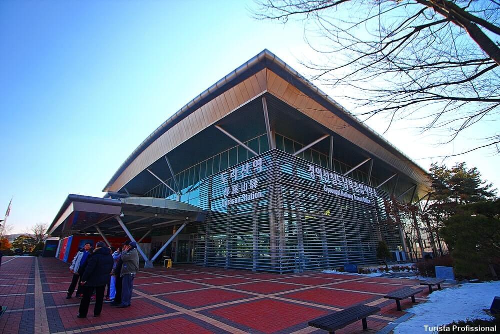 Estação Dorasan Coreia