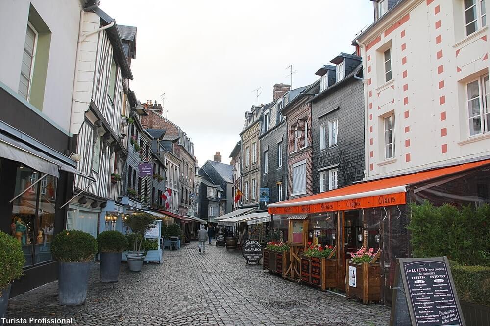 Restaurantes em Honfleur