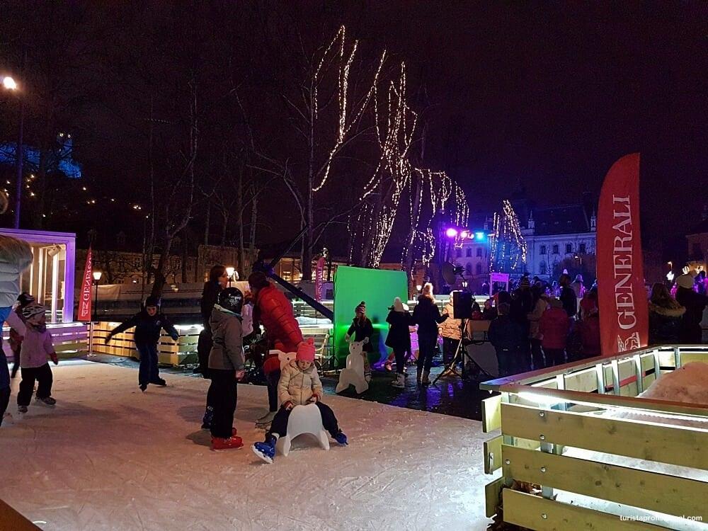 pista de patinacao eslovenia 2 - Roteiro de 3 dias na Eslovênia