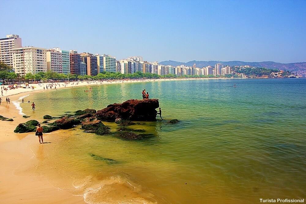 Praia de Icaraí em Niterói