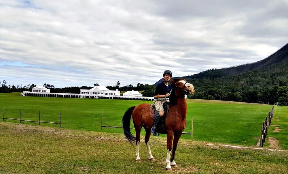 Andar a cavalo na África do Sul