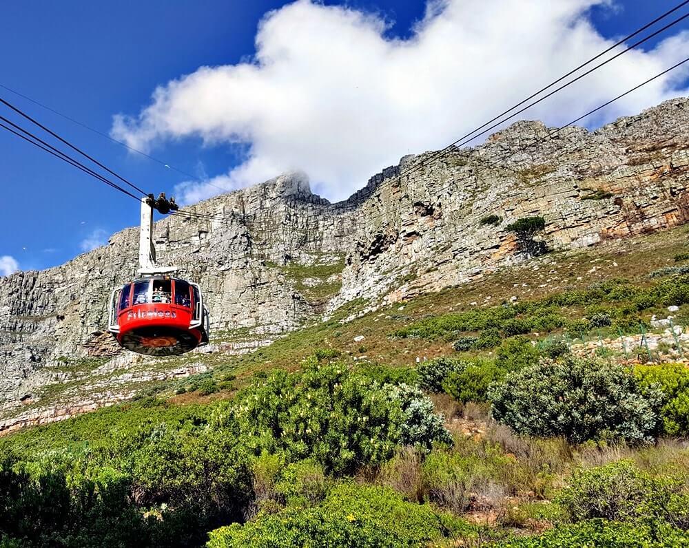 bondinho table mountain - Dicas da África do Sul de A a Z