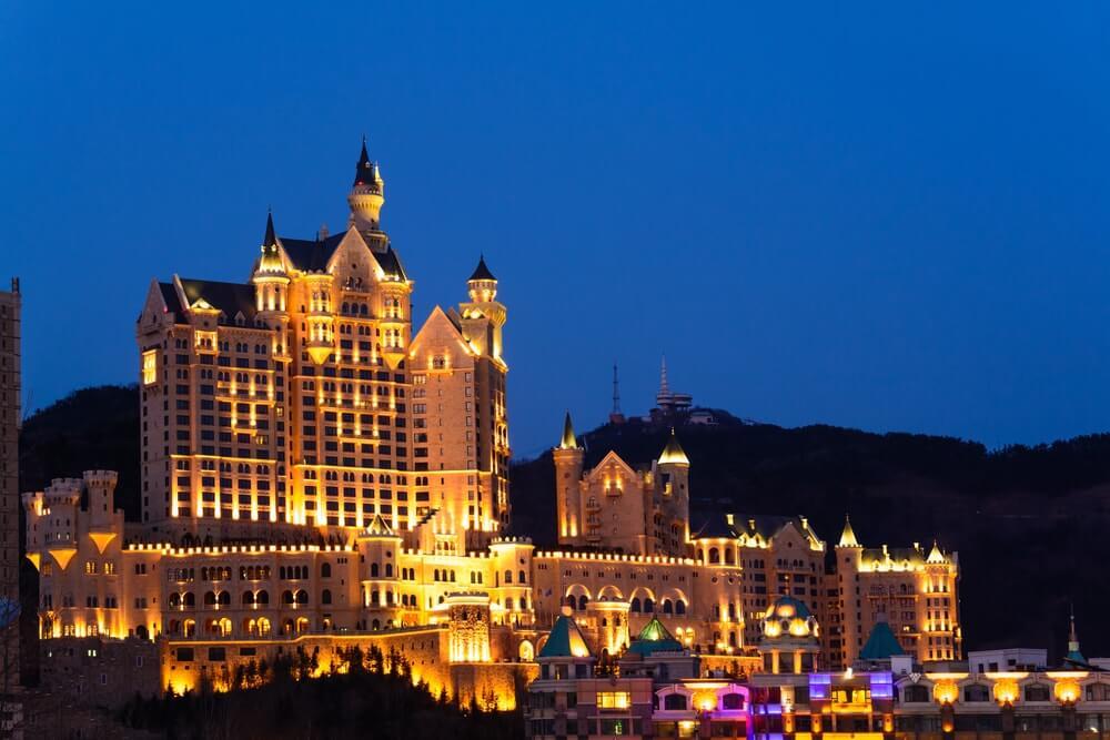 Castelo hotel na China