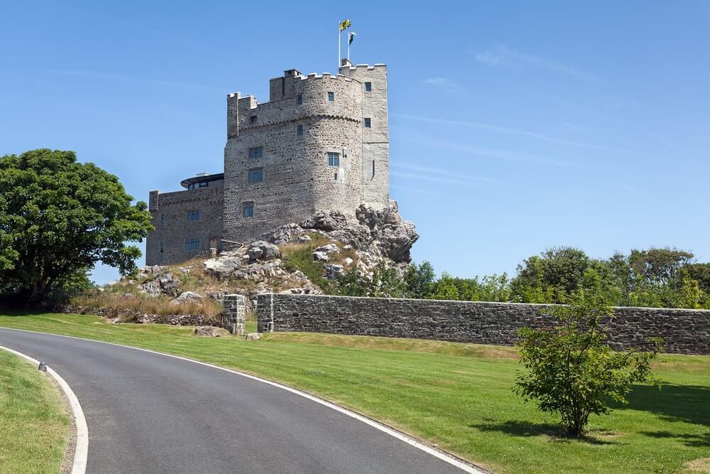 Ficar em um castelo no Reino Unido