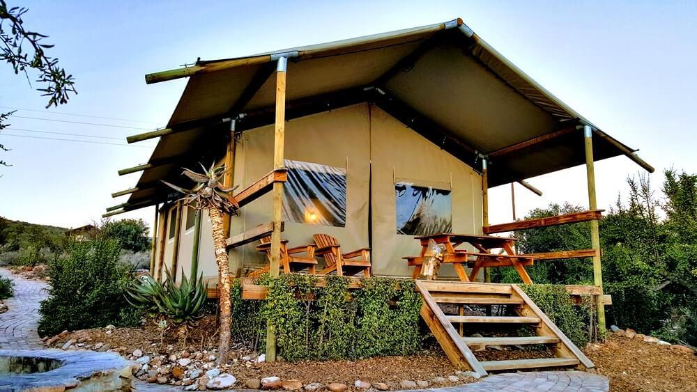 hotel em tenda africa do sul