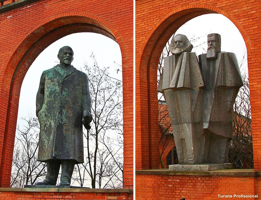 lideres comunistas - Memento Park: o museu das estátuas de comunistas de Budapeste
