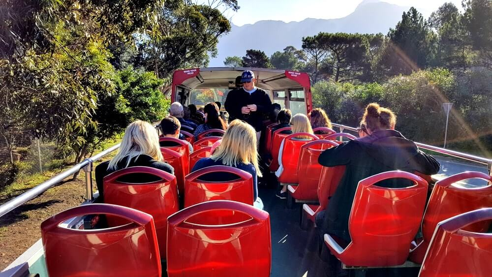onibus Hop on Hop off na cidade do cabo - Dicas da África do Sul de A a Z