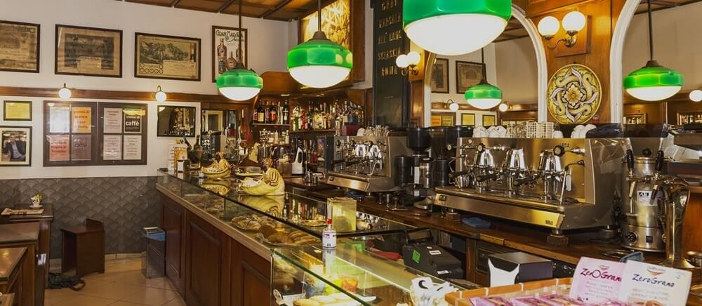 Cafeterias em Roma
