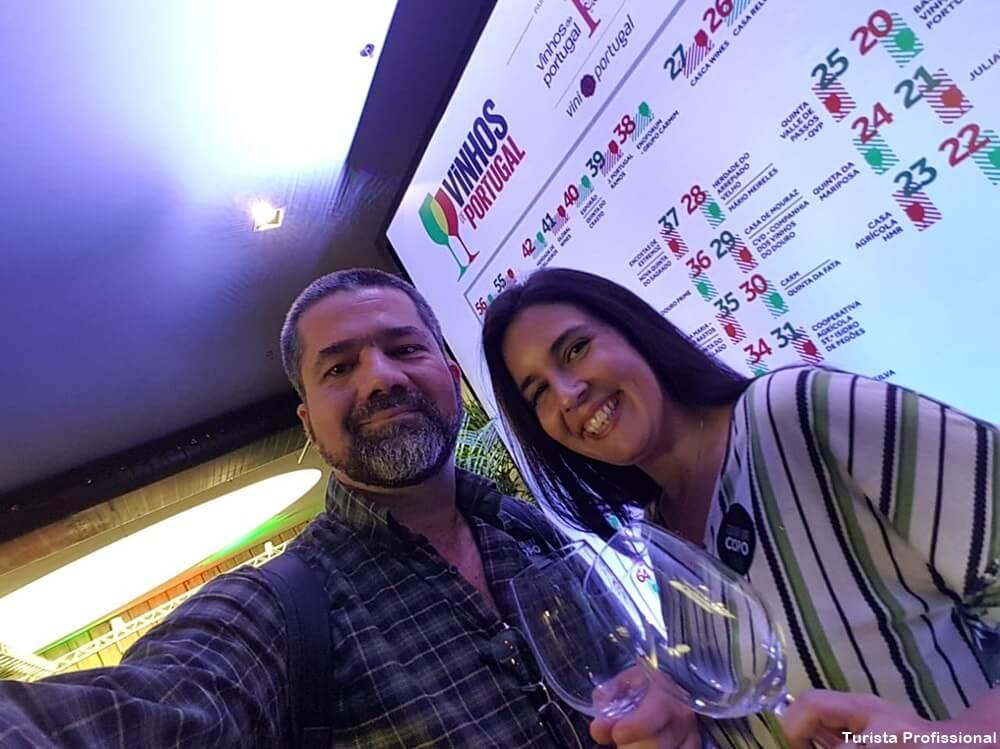 Turista Profissional no evento Vinhos de Portugal