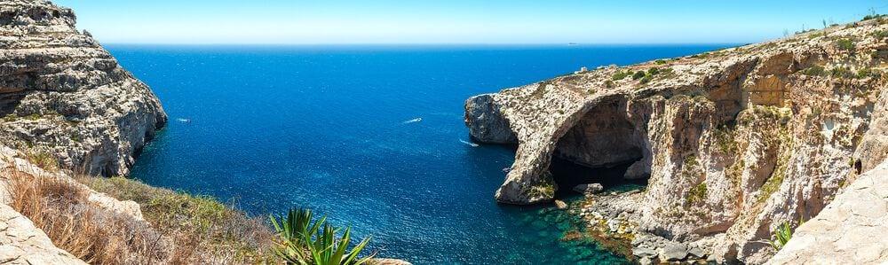 Blue Grotto Malta - O que fazer em Malta: principais pontos turísticos