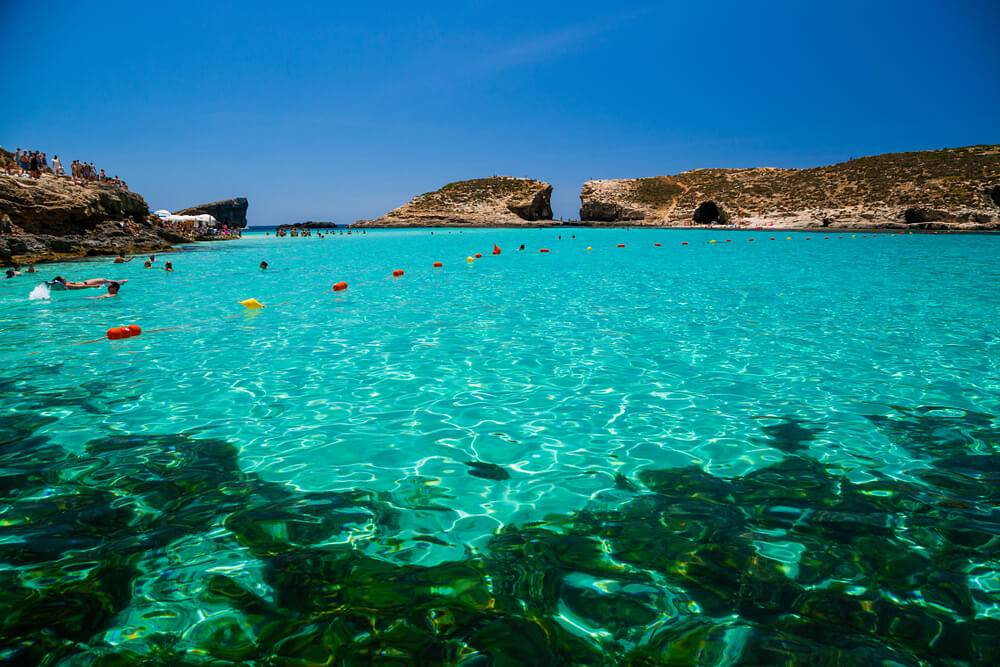 Blue Lagoon pontos turísticos de malta