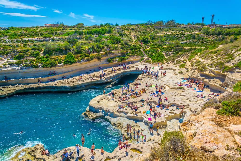 St Peters Pool Malta - O que fazer em Malta: principais pontos turísticos