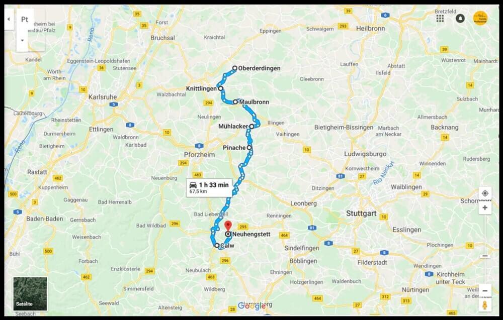 Roteiro por pequenas cidades da Alemanha