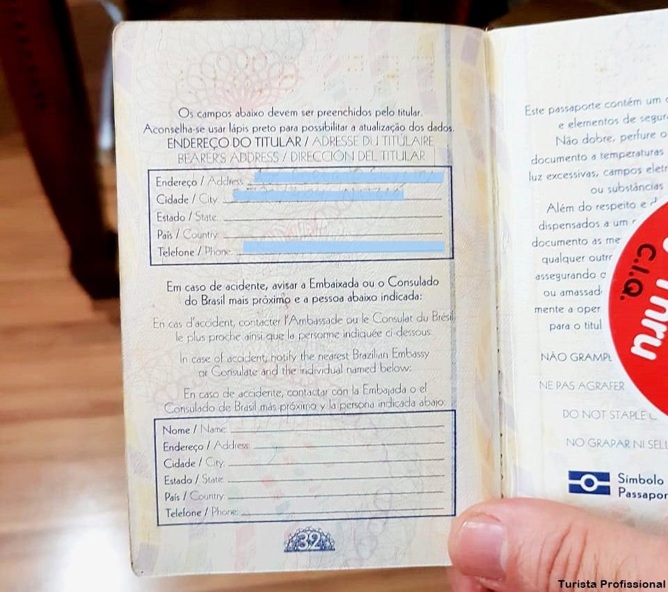 o que fazer em caso de perda de passaporte