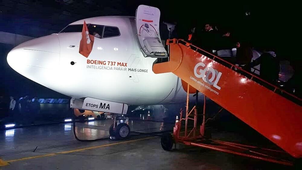 Boeing 737 MAX 8 novo aviao da gol linhas aereas - Novo avião da Gol: Boeing 737 MAX 8