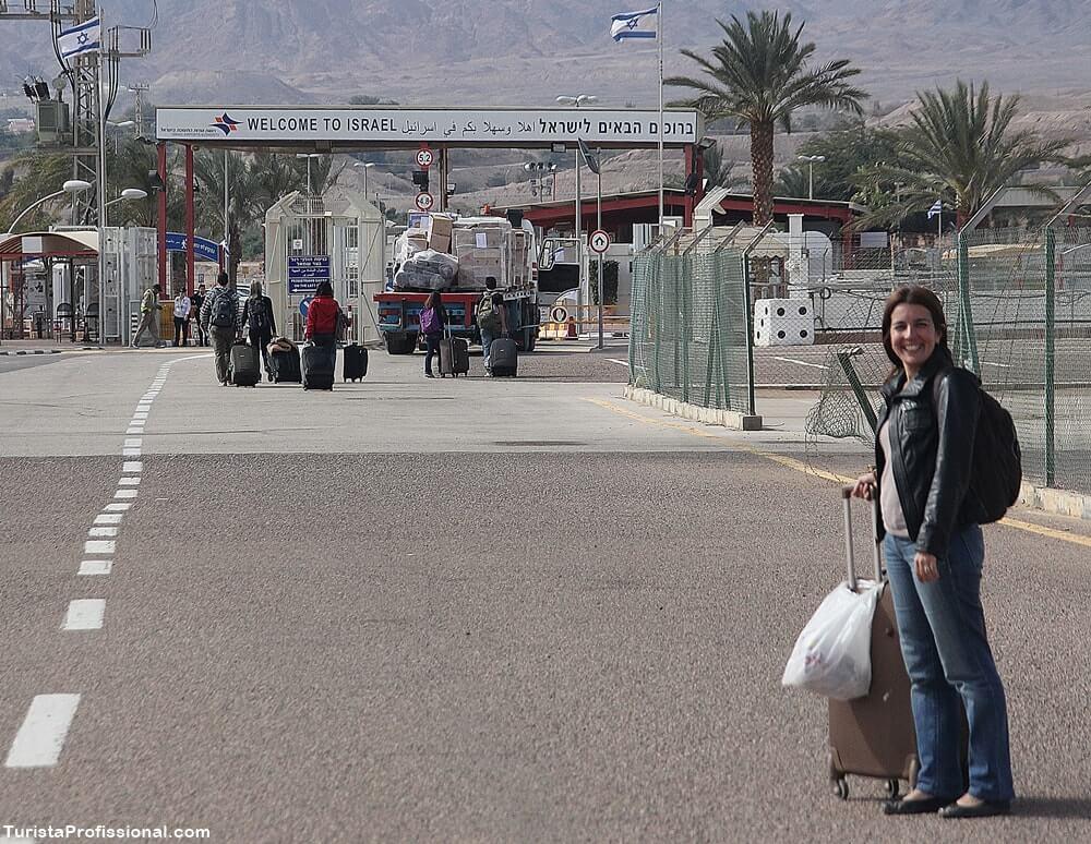 fronteira israel Jordânia