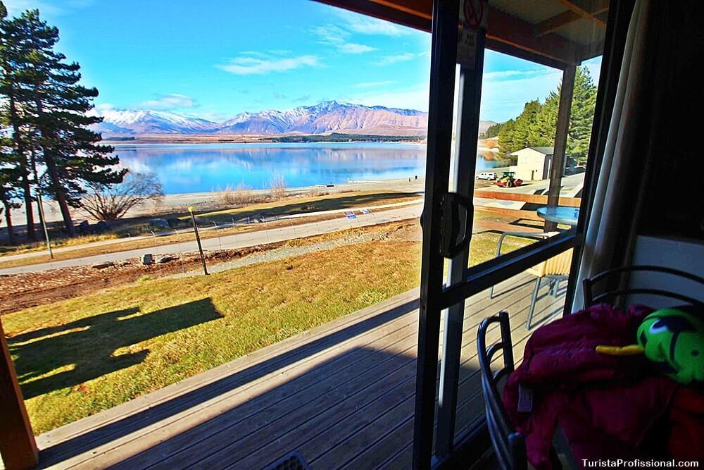 hospedagem na nova zelandia Lake Tekapo