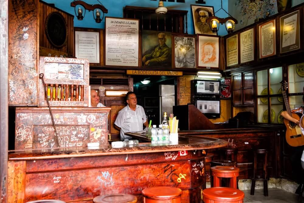 La Bodeguita del Medio, em Havana