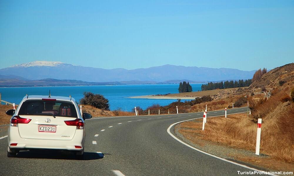 Nova Zelândia de carro