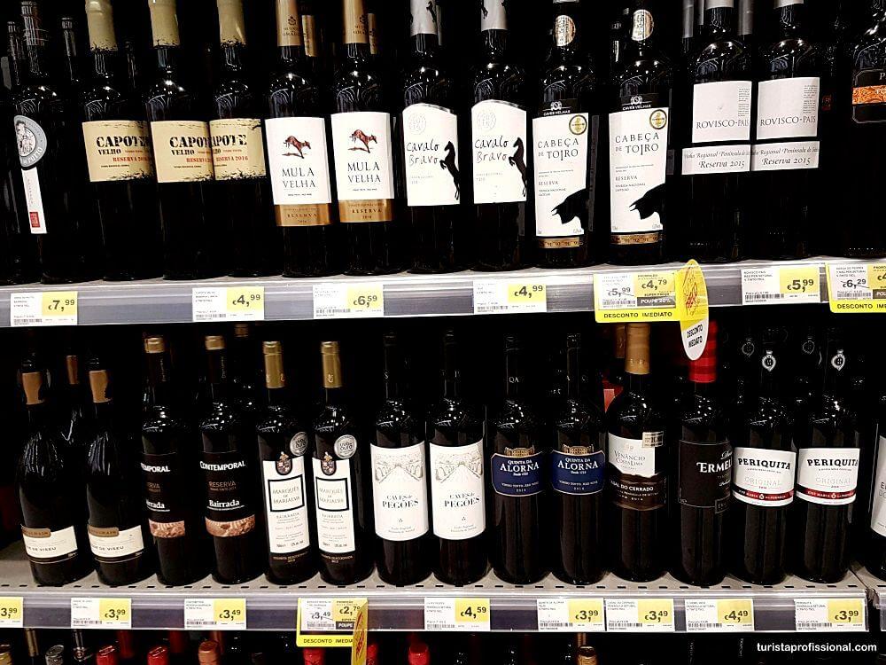 onde comprar vinhos em Portugal