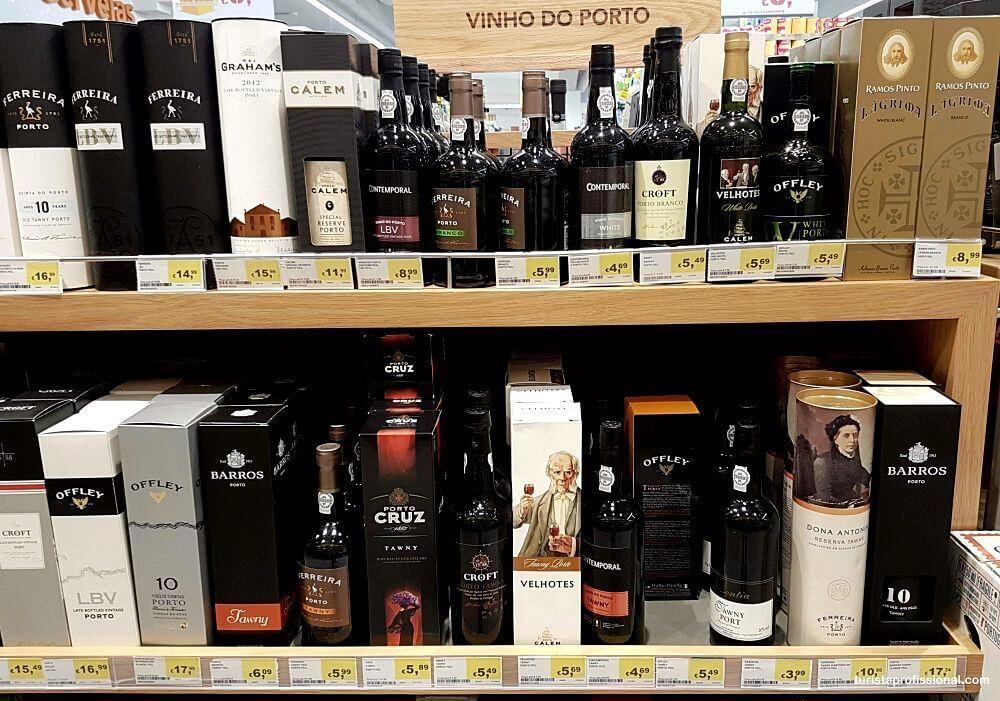preço de vinho do Porto
