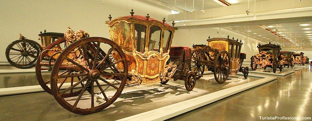 Museu dos coches em Lisboa